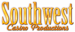Southwest Casino Productions Logo - Houston Texas