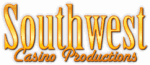 Southwest Casino Productions logo - Dallas, Texas