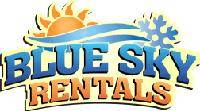 Logo for Blue Sky Rentals in Traverse City, MI
