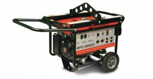 Towable 6.9Kw Generator on Wheels