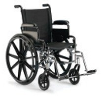 Wheelchair with Footrest
