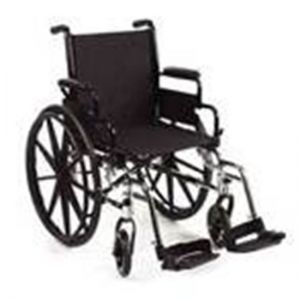 Black Wheelchair With Legrest