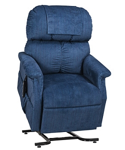 Blue Infinite Recline Position Lift Chair