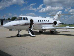 Atlanta Hawker 800XP Light Jet Rentals in Georgia
