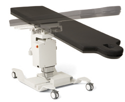 Medical Table Compatible with C-Arm Devices