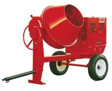 Electric Towable Concrete Mixer from Volvo Rents Equipment Rentals