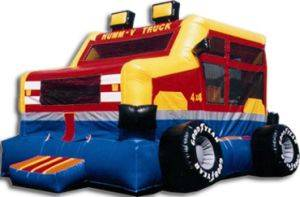 Image of Monster Truck Inflatable