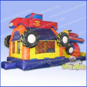 Louisville Inflatable Rentals - Super Truck Jetski Bouncer - Kentucky Party & Event Equipment For Rent
