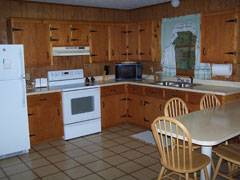 Mountainwood Cabin Kitchen
