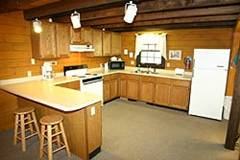 Cabin and Kitchen