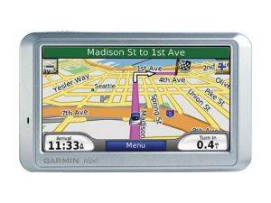 Charlotte Portable GPS System Rentals - Garmin Wide Screen GPS Unit - North Carolina GPS Navigation Systems For Rent