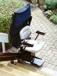stair lift outside