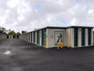 Extra Space Outside Storage Units