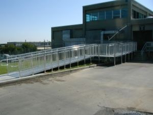 Modular Ramp At Business