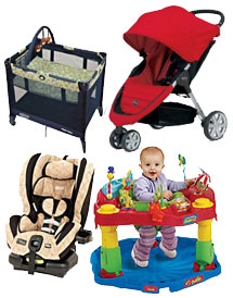 Toddler Baby Equipment Package