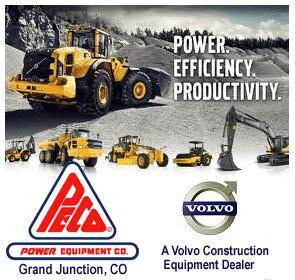 Power Equipment Co Colorado Volvo Construction Equipment Dealer Logo