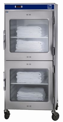 Dual Chamber Blanket Warmer Cabinet from Pedigo