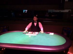 Dealers and Black Jack Tables Available To Rent