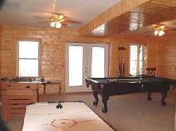 Lilly Pad Luxurious Game Room