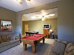 Tiger Lilly Cabin Game Room