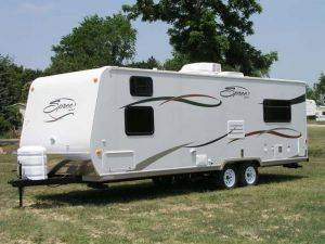 RV, Camper, Motorhome Rentals , Travel Trailer for Rent, Spree  (25' ft.) - Michigan