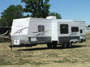Travel Trailer Rentals - Starcraft 33ft - Michigan RV Rental