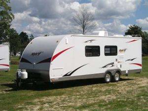 Sport Utility Travel Trailer for Rent, Coyote Sportster (26' ft.) Trailer Rental - Michigan