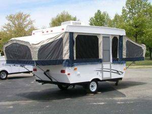 Michigan Pop Up Camper & Trailer Rentals - Starcraft 14' ft Pop Up For Rent