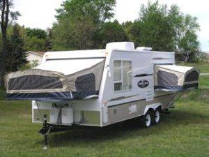 Pop Up Travel Trailer Rental - Michigan