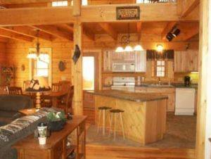Adventurewood Vacation Rental Cabin - Kitchen