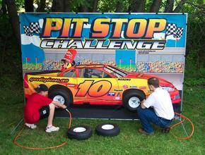 Louisville Party Rentals - Pit Stop Challenge Game For Rent - Kentucky Party and Event Planning