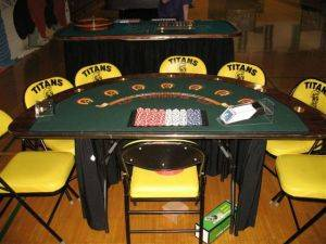 Indianapolis Casino Party Package Rentals - Caribbean Poker Tables For Rent - Indiana Event Planning Services