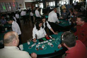 Poker Table Rentals
