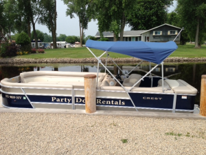 Fremont, Wisconsin Pontoon Boat For Rent