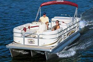West Palm Beach Boat Rentals - 18ft Pontoon Boats for Rent - Hire Florida Watercraft