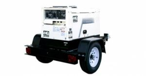 Portable Welding Unit With a Maximum Output of 225 AMPs
