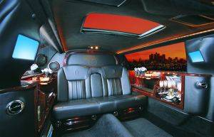 Lincoln Town Car Rental Interior