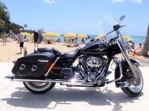 Road King Classic Harley Davidson Rentals in Honolulu, Hawaii