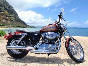 Honolulu Harley Davidson Motorcycle Rental - XL 1200C