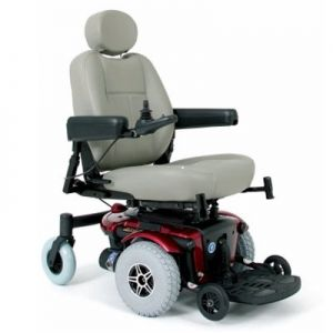 Power Wheelchair With Footrest