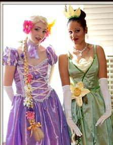 Tiana - Mascot or Real Face and Tiana - Real Face