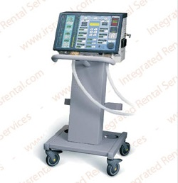 Patient Ventilator With Wheels