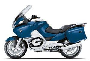 Blue 2009 BMW R1200 RT Motorcycle Rentals in New York