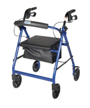 Rollator Walker With Hand Brakes