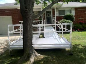 available residential ramp for rent in cleveland