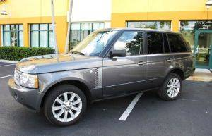 Boston Luxury SUV Rental - Range Rover For Rent
