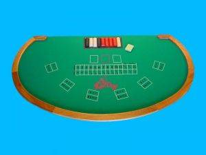 Fort Wayne Casino Party Rentals - Caribbean Stud Tables For Rent - Indiana Casino Games