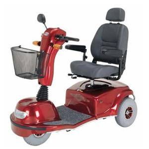 Detroit Medical Equipment Rentals - Full Size Mobility Scooter For Rent - Michigan Medical Supplies: