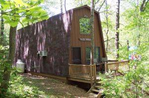 Cabin Rockwood Central Virginia Vacation Rental