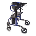 Rollator that Transfers into a Transport Chair